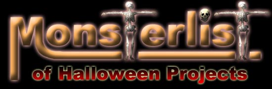 Monsterlist of Halloween Projects